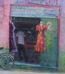 Dress Shop (detail)